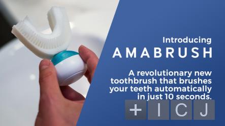 Компания Amabrush создала реактивную зубную щетку